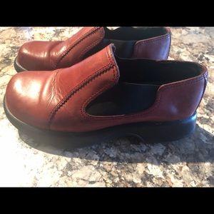 Dansko women's clog brown leather